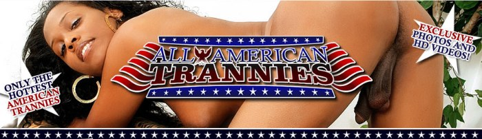 enter All American Trannies members area